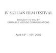 SICILIAN FILM FESTIVAL 2009