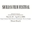 SICILIAN FILM FESTIVAL 2006