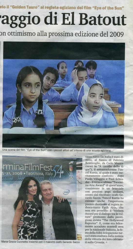 Gazzetta del Sud 22 giugno 2008 b
