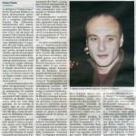 Gazzetta del sud 22 giugno 2008