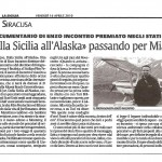 La Sicilia 16 aprile 2010