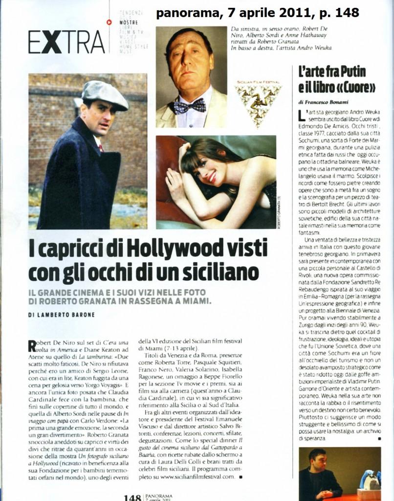 Panorama, 7 aprile 2011, p. 148