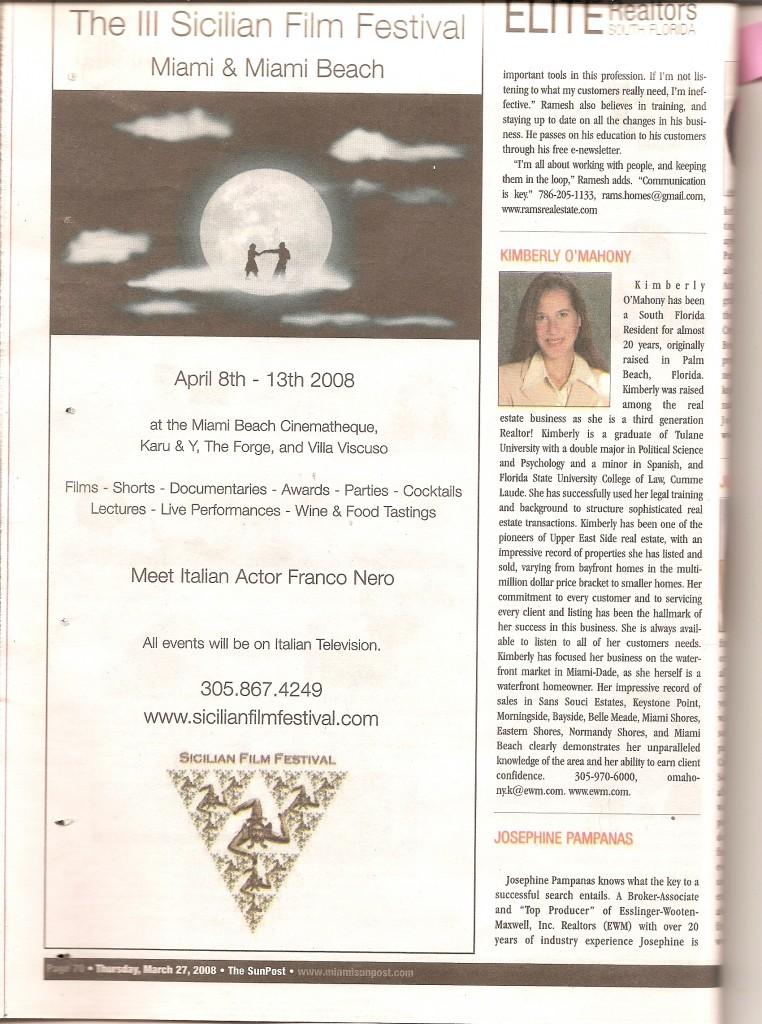 SunPost 27 Marzo 2008